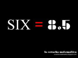 SIX Equals 8.5 by Javomar