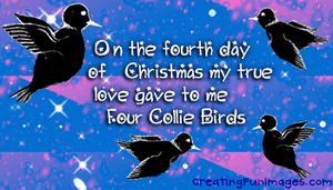 4th day of Christmas 2 by Rebecca329