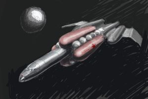 Soviet Space Freighter by WaaaZeGoat