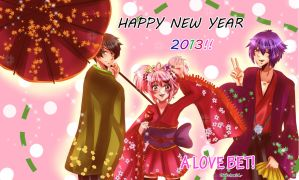 Happy New Year 2013 Everyone!! by Yuri-chan24