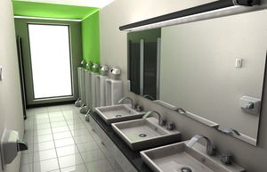 HRC - Bathroom Rendering 2 by Wittermark