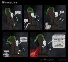 Wormtail, tea .comic by The-Black-Panther