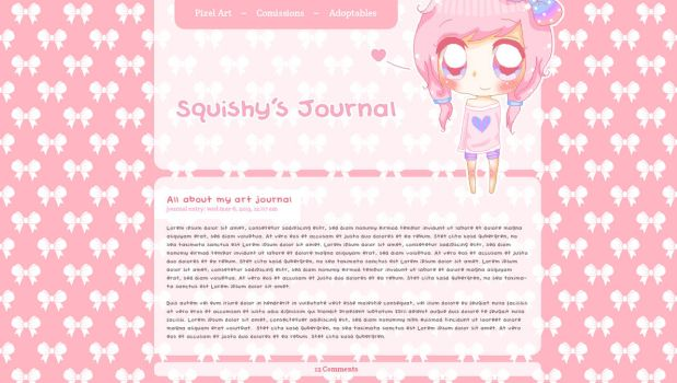 Squishy's Journal Skin by UltraNoire