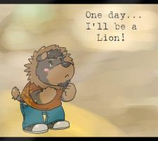 One day ill be a Lion by FatYogi