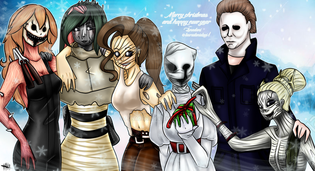 DBD - Merry Christmast and Happy New Year by lunadani