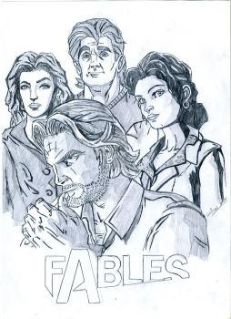 Fables Telltale by Frodo152