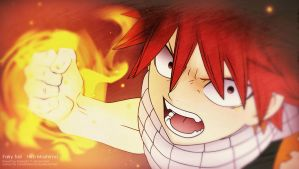 Dragon Slayer Natsu Dragneel by coralsnowcandy