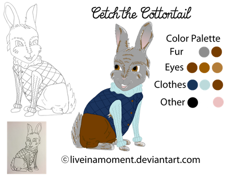 Cetch the Cottontail Attempt No. 2 by LiveInAMoment