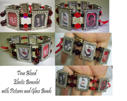 True Blood Elastic Bracelet by PushyGirlTorella