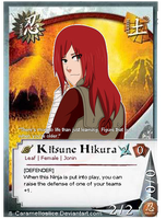 PComm: Kitsune Card by Miss-Sheepy