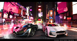 Mazda Furai vs. Citroen GT by AS001
