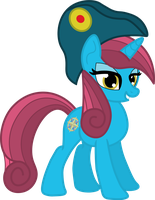 Captain Saphire Rose by rainbowmaster921