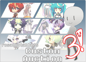 CUSTOM AUCTION 3 [CLOSED] by resadoptables