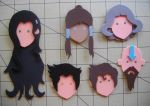 Foam Faces: Legend of Korra by Meika02