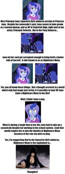 Equestria Girls Nightmare Moon Theory by CMWaters