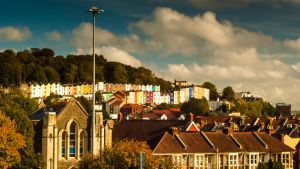 Bristol Colourful houses by lordradi