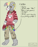 ContestEntry:I can't design clothes orz by BakaPup