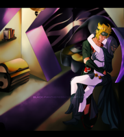 Commission: Raven and Akatsuki Naruto by R-Legend