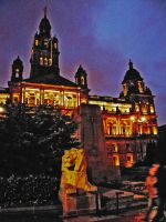 Glasgow city hall by martinemes