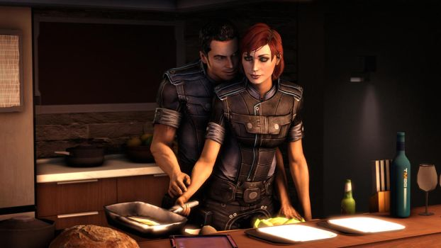 Cooking with Kaidan by Turpuli