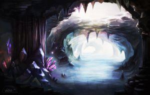 crystal cave by schuhoku