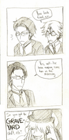 4Koma - Graveyard Shift by PiefaceMcGee