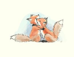 foxes in love by Spwrinkle