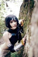 Yuffie - I found something! by Narga-Lifestream