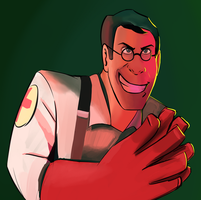 WIP Medic: Give them no time to scream by gabsters109