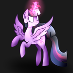 Alicorn Twilight Sparkle by MiningCazzy