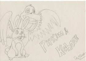 Pipkim and Kehaar by The-Real-Shaydee
