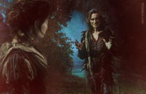 Rumbelle in the forest by RumbelleFairytale