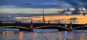 White Nights of St. Petersburg by Foto-Hunter
