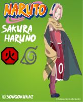 Sakura Haruno -Movie- by Krizeii