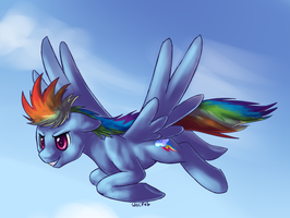 Rainbow Dash is made of dark matter by rarewhitewolf