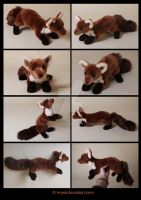 Plushie Commission: Parallel the Pine Marten by Avanii