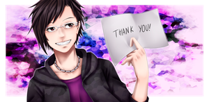 :SPEEDPAINT: Thank You by Aikobo
