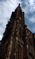 Strasbourg Cathedral by Otaka-Ayano
