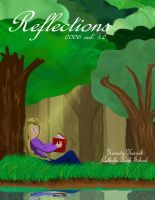 'Reflections' Magazine Cover by AJD08