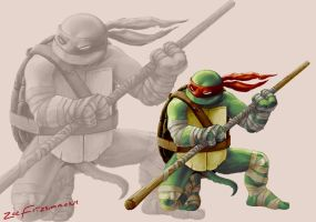 Hamato Donatello by Backflipsimmons