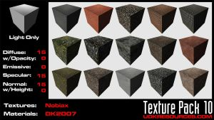 UDK Texture Pack 10 by DK2007