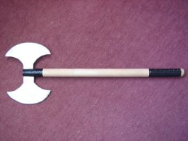 Double head Axe by chioky
