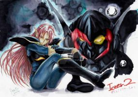 Iczer2/Fight! Iczer One by yasuoshubukan