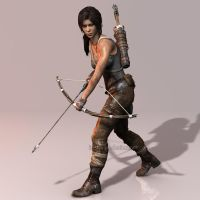 Tomb Raider 2013: The Survivor by Irishhips