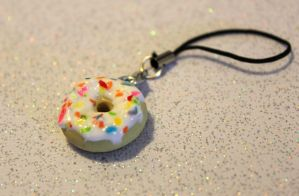 Donut charm by rainboww-horror