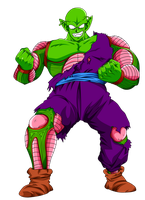 Piccolo Gigant Form by EmiyanSaiyan