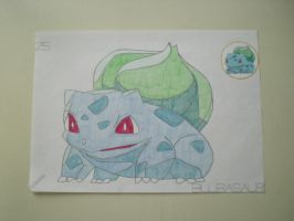 Bulbasaur by charlenequek