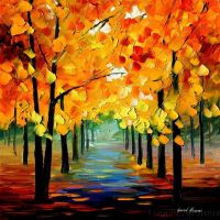 FALL BREEZE by Leonidafremov