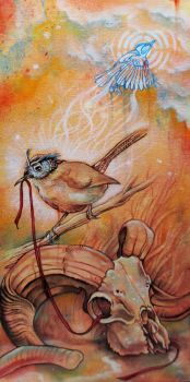 The Wren In The Thicket Revealed by bedowynn