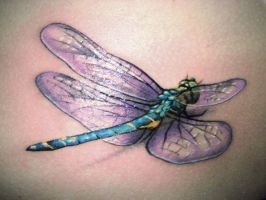 Dragonfly by maximolutztattoo